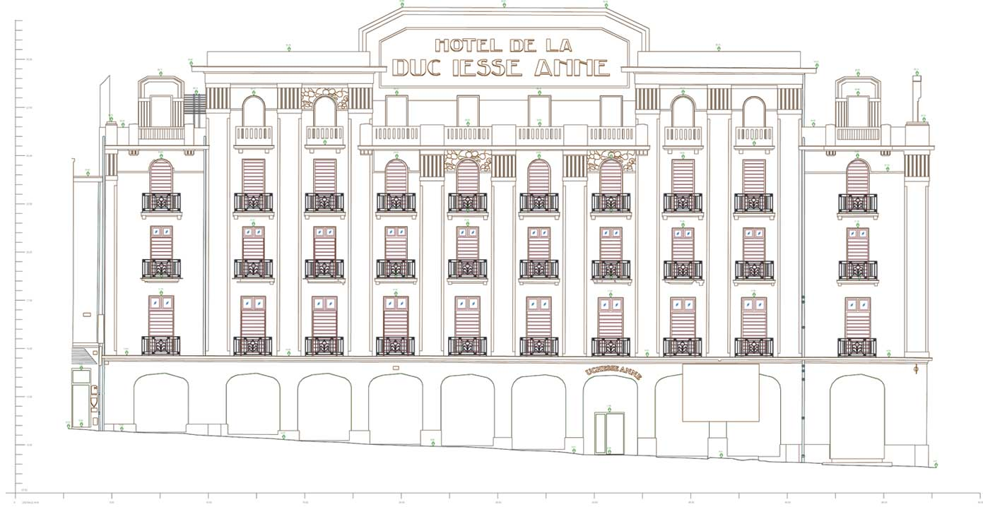 Scanning Facade Plan 1