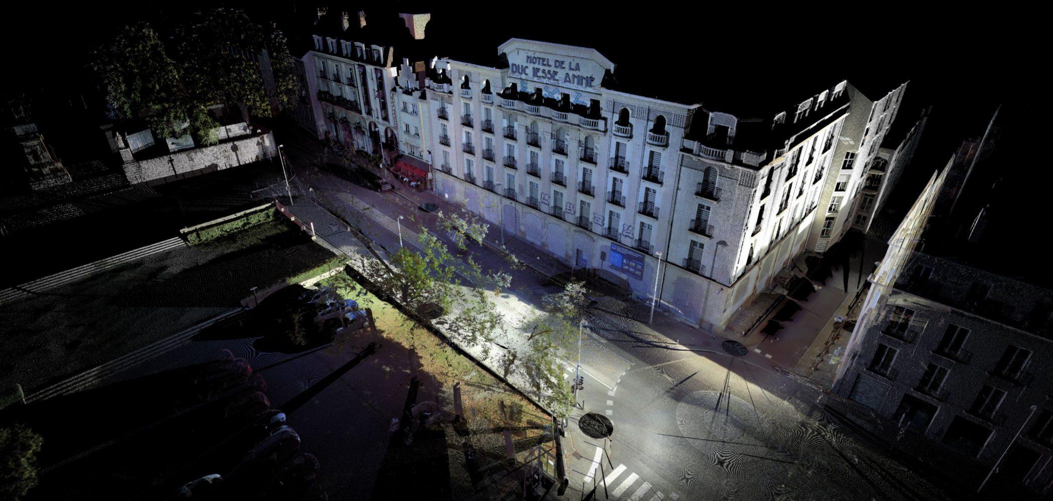 Relevés Laser 3D De L'hôtel Duchesse Anne