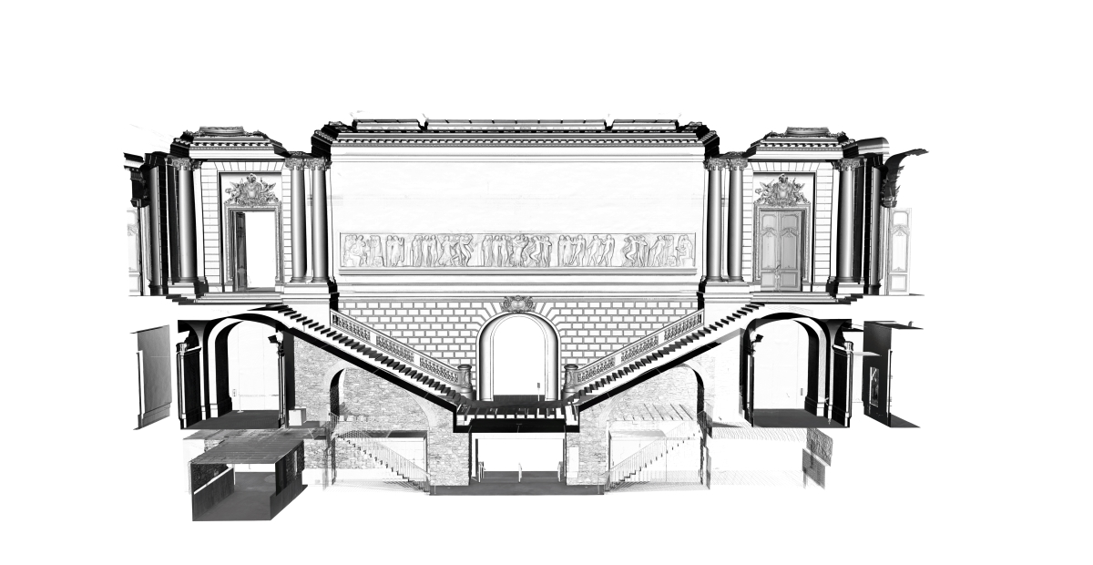 Relevé 3D Musée Arts De Nantes